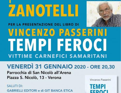 Padre Alex Zanotelli a Verona il 31 gennaio