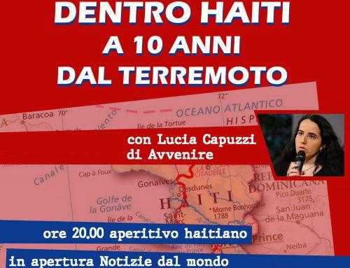 """""""Dentro Haiti a 10 anni dal terremoto"""", martedi 4 febbraio h 20,30"""