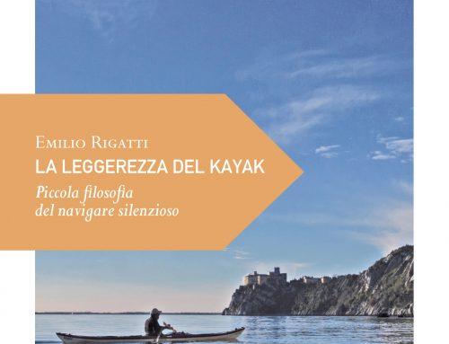 """""""La leggerezza del kayak"""" di e con Emilio Rigatti, martedi 29\9 h 19 a Corte Dogana 6"""