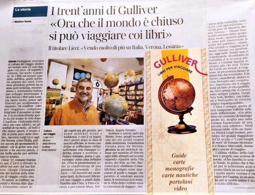 Il trentennale di Gulliver sul Corriere della Sera !