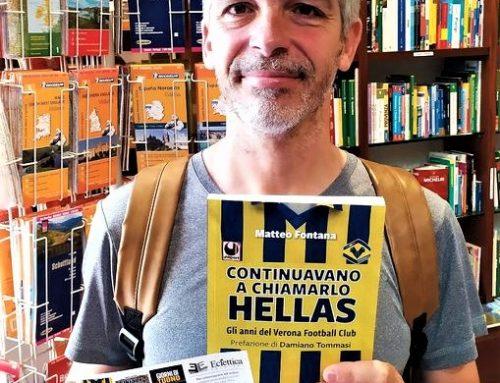 """Presentazione di """"Continuavano a chiamarlo Hellas"""" di e con Matteo Fontana, giovedi' 2 settembre 2021 h 18,45 al Circolo La Pineta"""