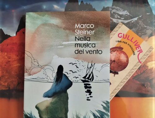 """Presentazione di """"Nella musica del vento"""" di e con Marco Steiner, giovedi' 26 agosto h 20,45 a Corte Dogana"""
