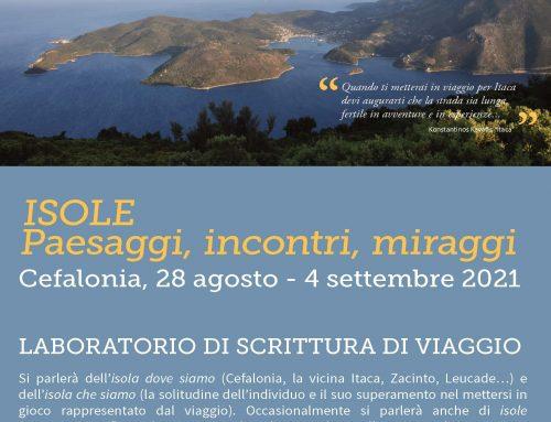 Laboratorio di Scrittura di Viaggio a Cefalonia dal 28\8 al 4\9 \2021