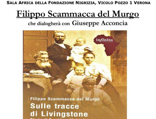 """Presentazione di """" Sulle tracce di Livingstone"""" giovedi' 9 settembre h 20,30 al Museo Africano"""